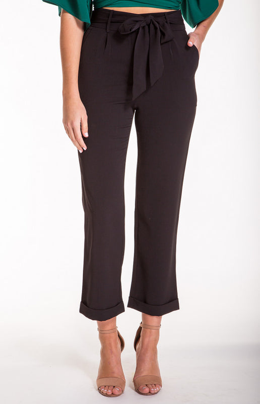 Shy Pants-Black