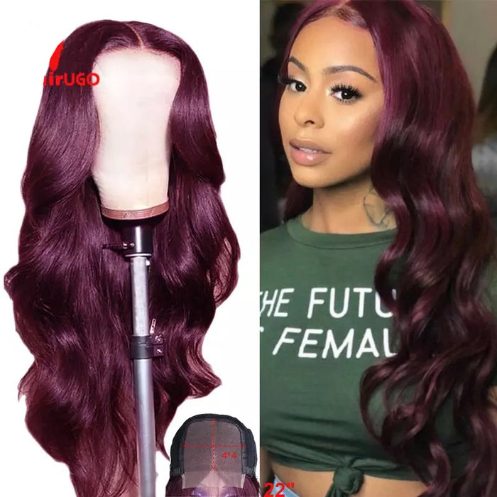 Lace closure Human Hair wig