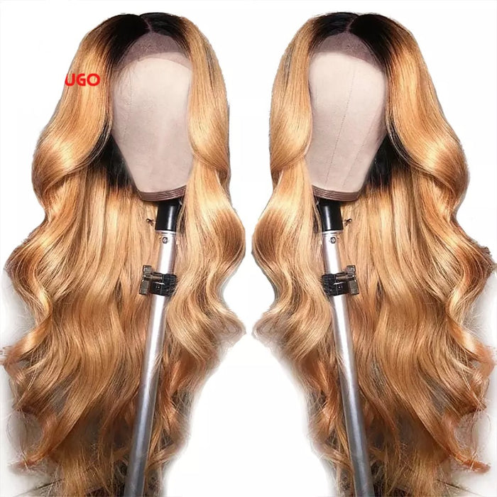 Ombré Front Lace Human Hair wig
