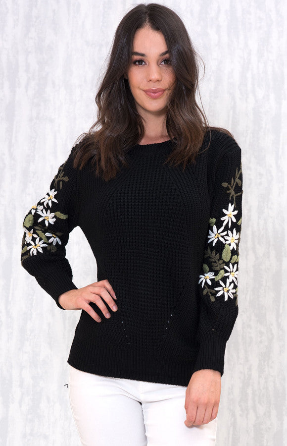 Love to Love Sweater- Black