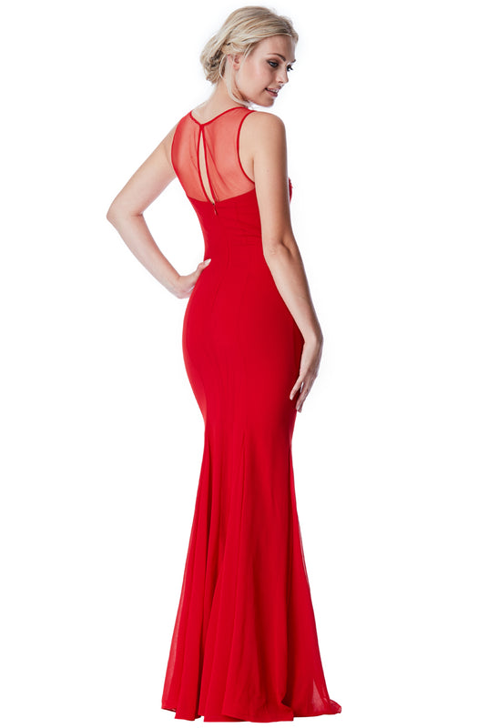 Ember Dress Red