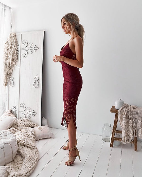 Khaleesi Dress Dusty Rose