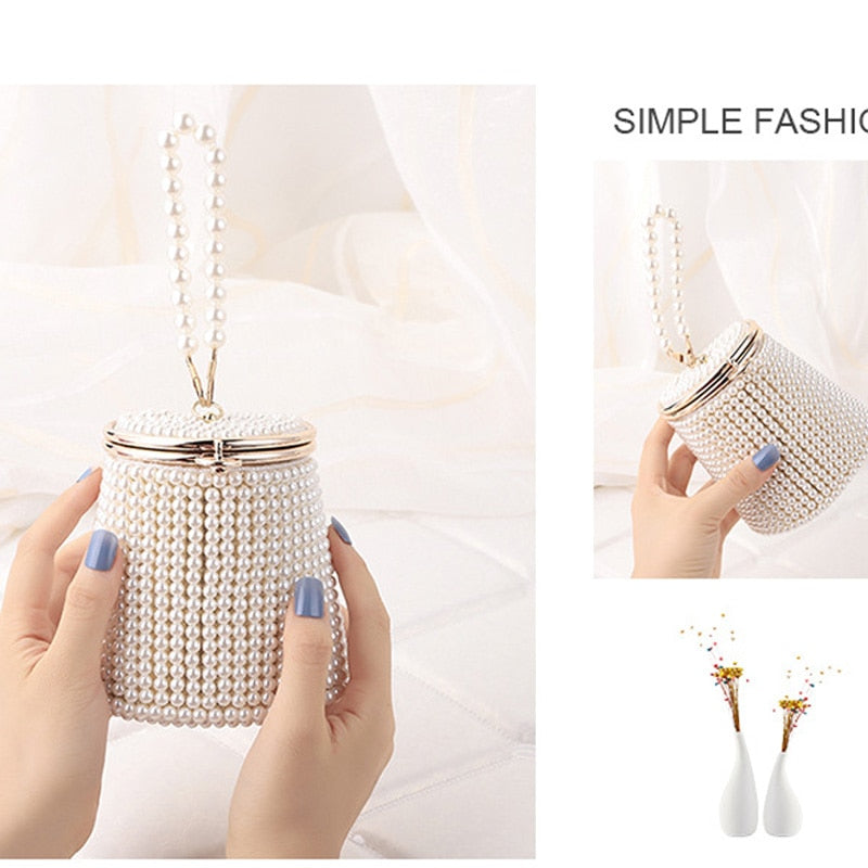 Beading holder day clutch