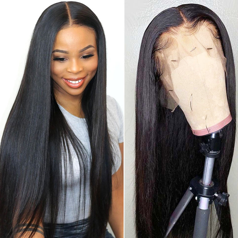 T Part 13x4x1 Straight human hair