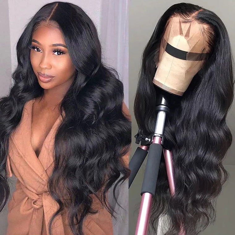 Brazilian Loose wave 13x4 Lace Front Human Hair 180%