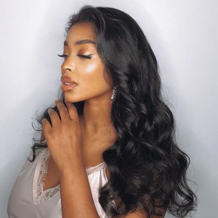 Body Wave 13x4 lace Front Human Hair Wig