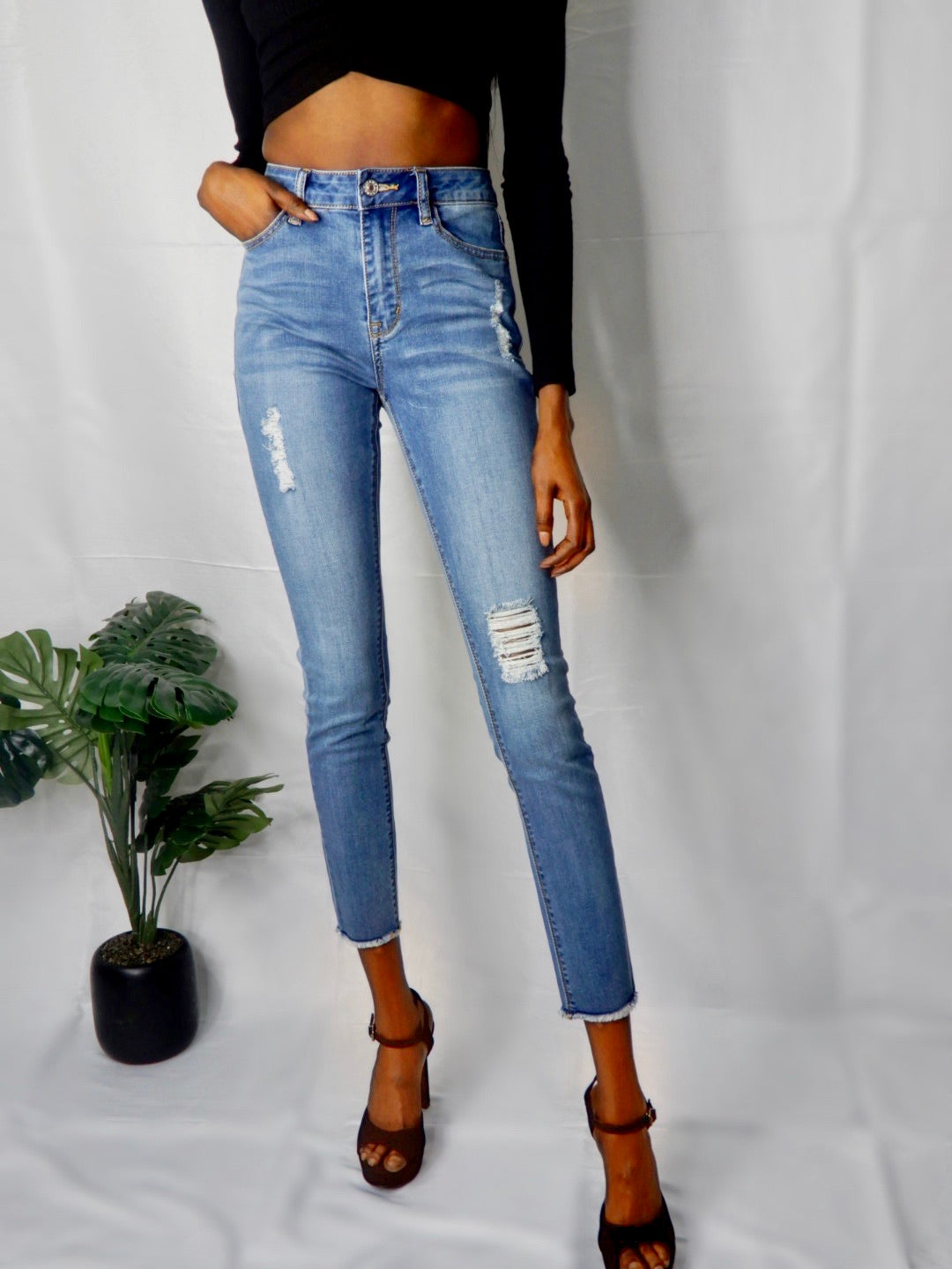 Gemma Denim Jean- Blue