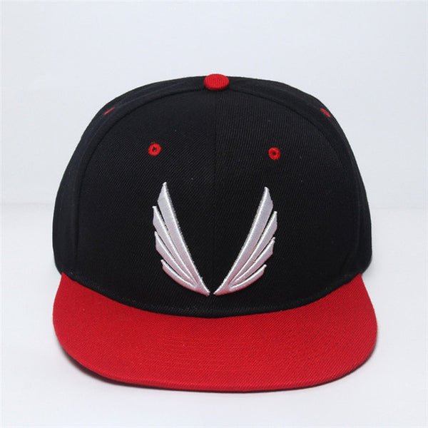 095eb1b081d 2016 New Fashion Red Black Hat Baseball Cap HipHop Cap Cool Snapback Gym  Sport Cap High