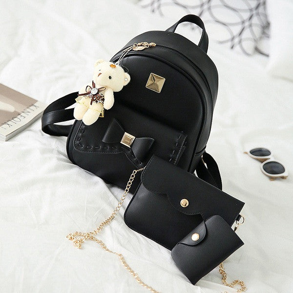 62b560427f Kavard Fashion Backpack Women Pu Leather Back Pack Famous Brand School Bags  for Girls sac a