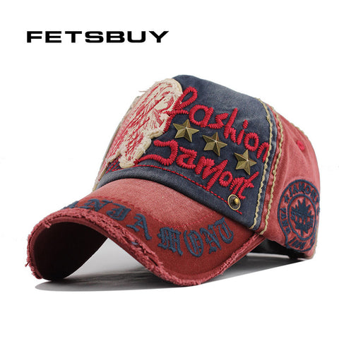 cc3de3abffb FETSBUY Cotton Men S Baseball Cap Women Snapback Hats Cotton Casual Caps  Summer Fall Hat For Men