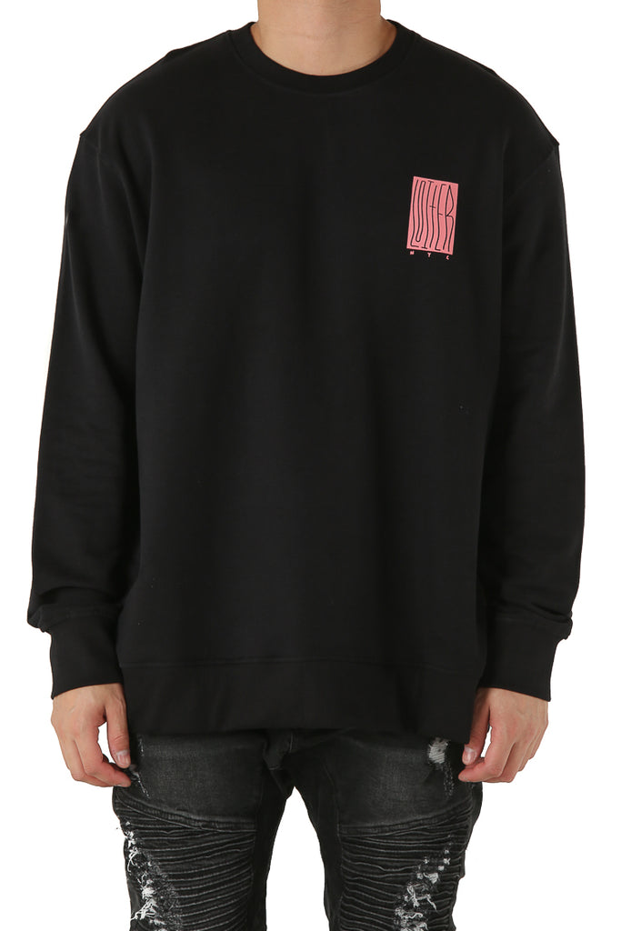 LOITER NYC SWEATER - Black