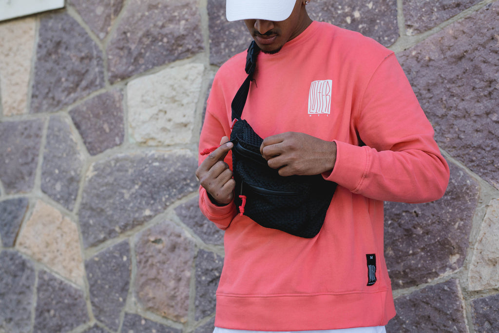 LOITER NYC SWEATER - Peach