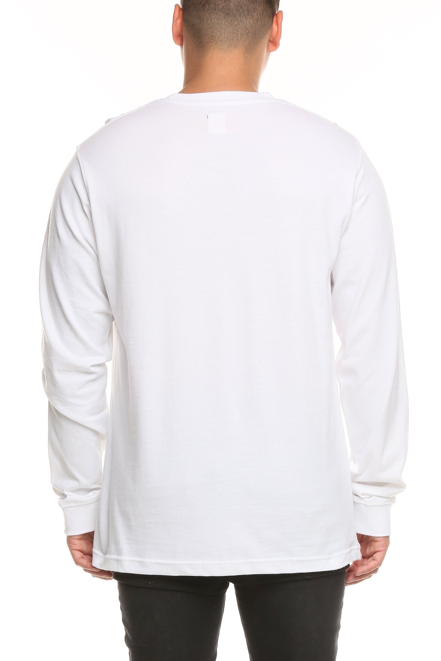 TEST LS TEE - White