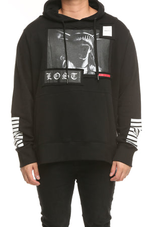 LIBERTY LOST HOOD - Black