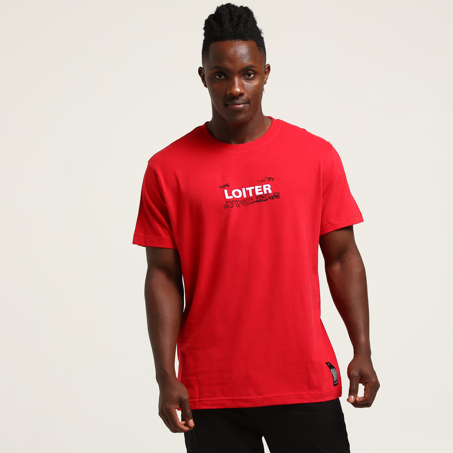 SKETCH SS TEE - Red