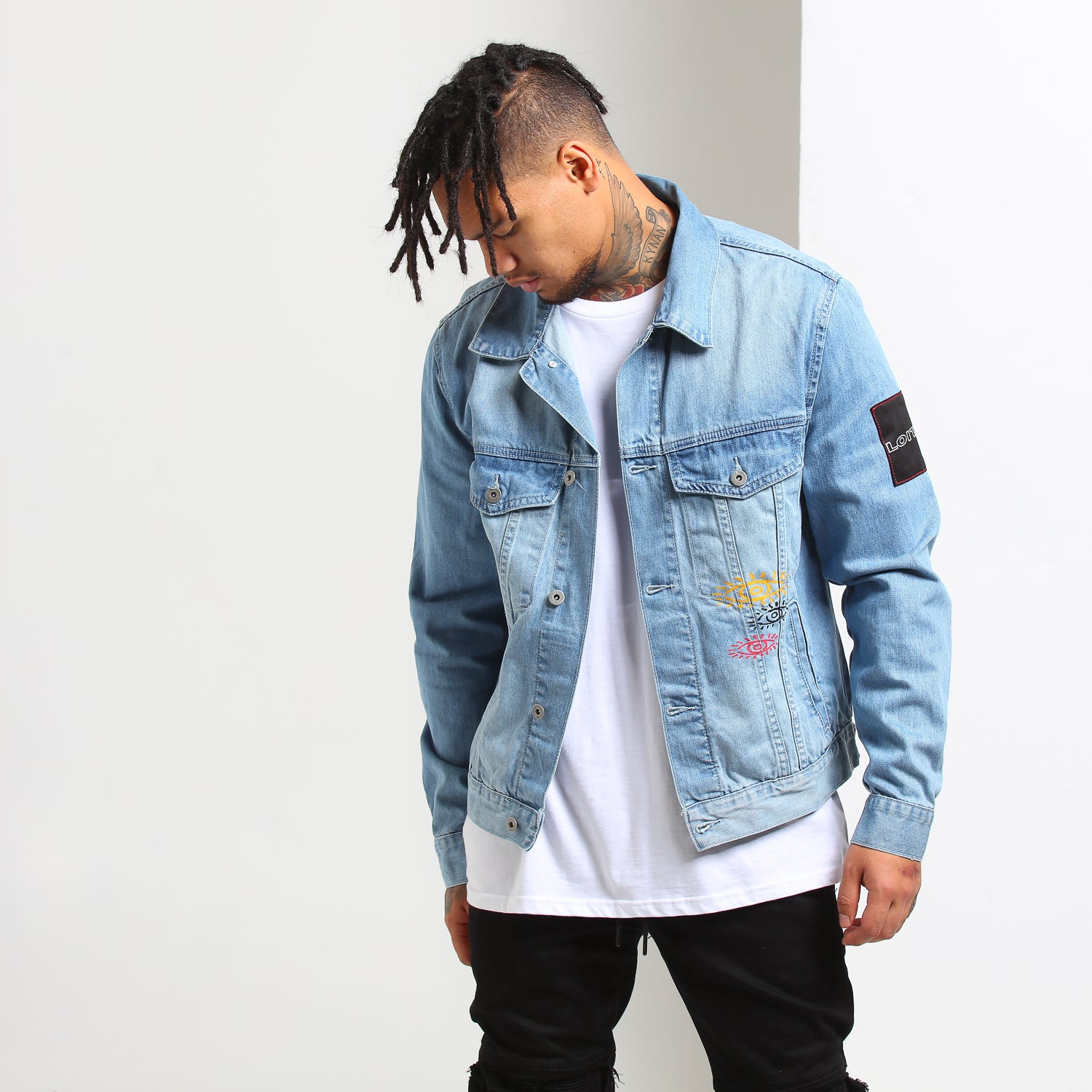 ALL SEEING DENIM JKT - Blue/Denim