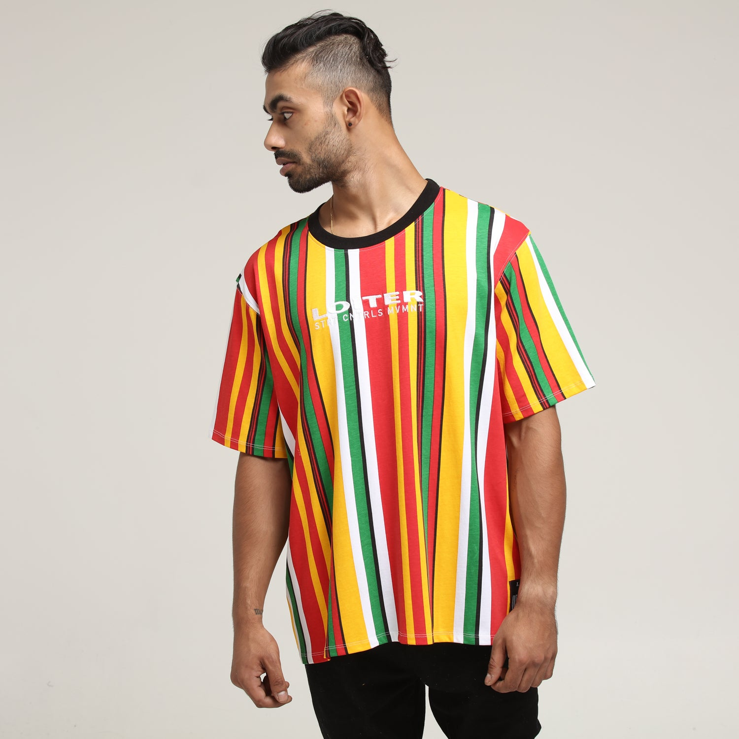 FRUIT SALAD TEE - Red/Yellow/Gree