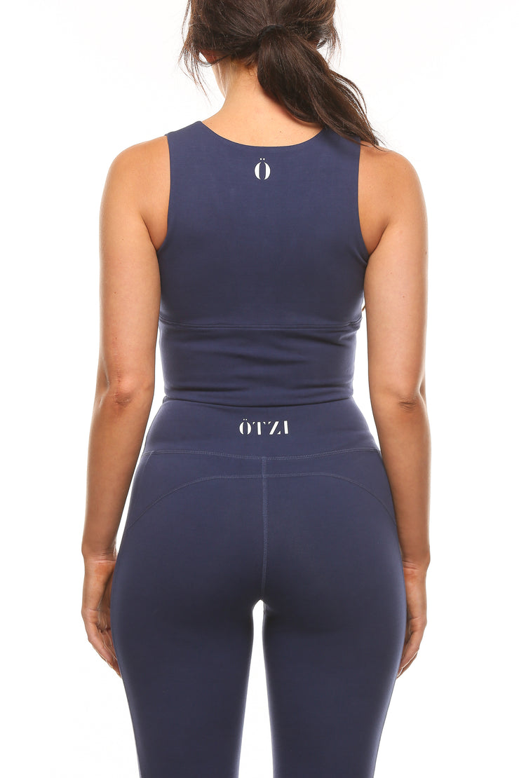 Ötzi Divide Crop Navy
