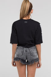 Otzi Vast Crop Black