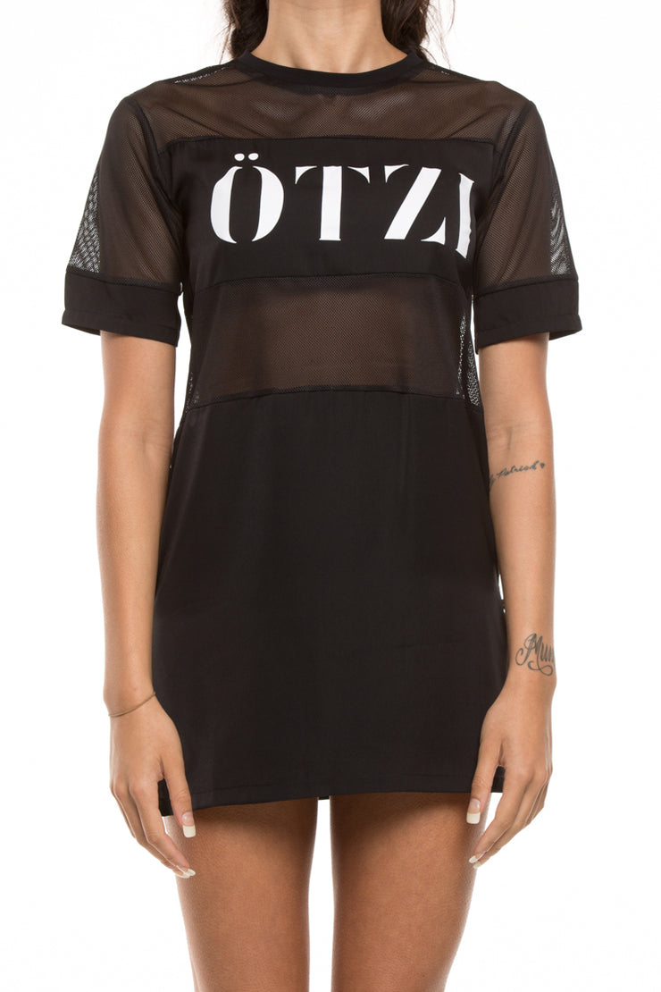 Ötzi Vitreous Dress Black