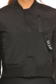 Ötzi Valiant Bomber Jacket Black