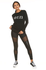 Ötzi Primitive Sweater Black