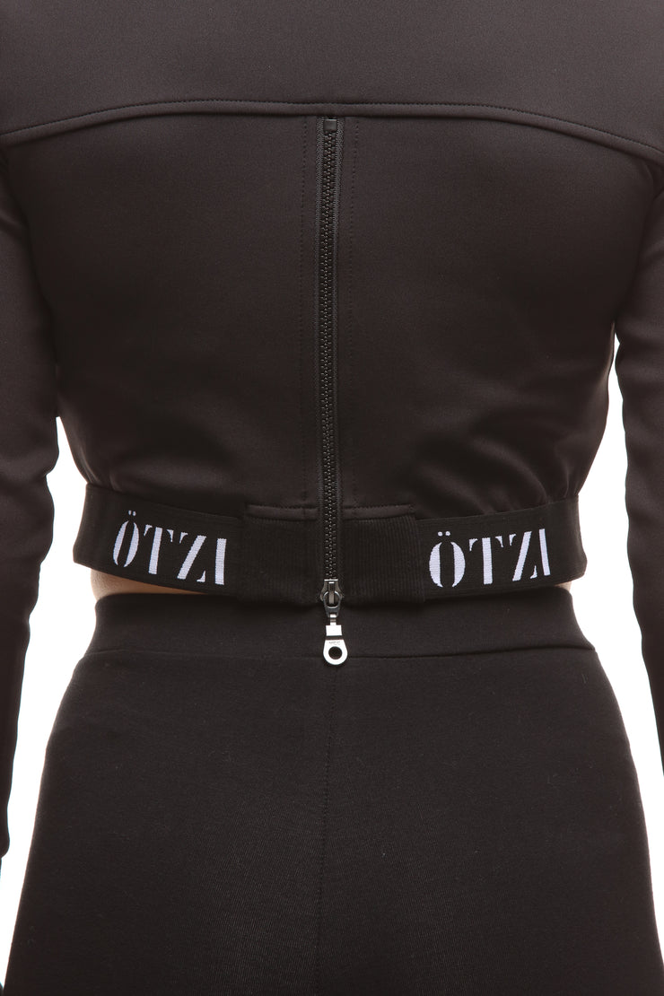 Ötzi Eliminate Crop Long Sleeve Black