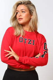 Ötzi Brisk Long Sleeve Tee Red