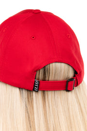 ÖTZI FAINT WOMEN'S STRAPBACK RED