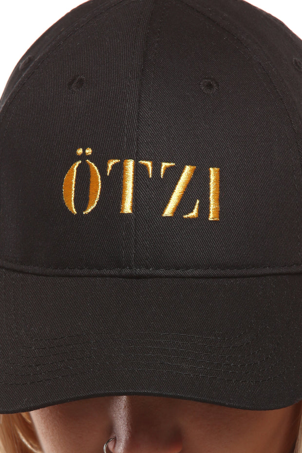 """Ötzi Distinct Strapback Black/Gold"