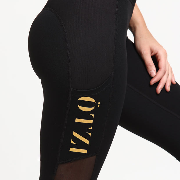 Ötzi Capsule Tight Black/Gold