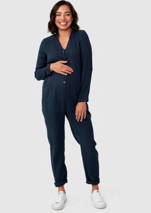 Pea In A Pod Kenya Jumpsuit - Navy