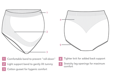 Seamless Support Maternity Panty