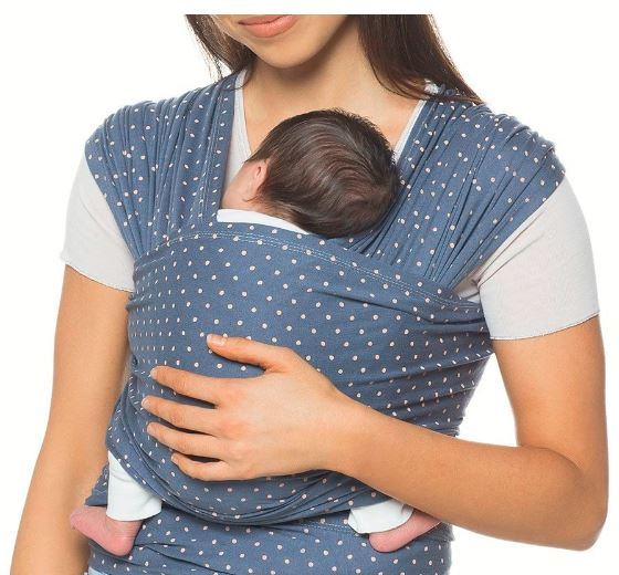 Ergobaby Aura Wrap - Coral Dots