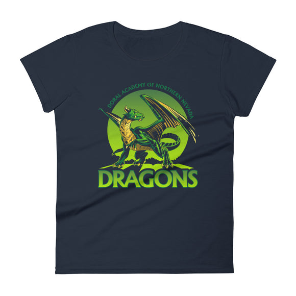 DANN Dragons Women's short sleeve t-shirt