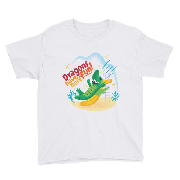 Dragons have more fun! Youth Short Sleeve T-Shirt