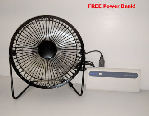 SolarBreeze 6 inch Solar Powered Fan