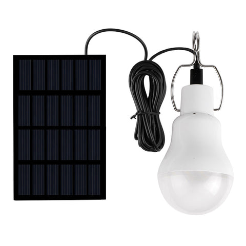 Off-The-Grid Portable Solar LED Light