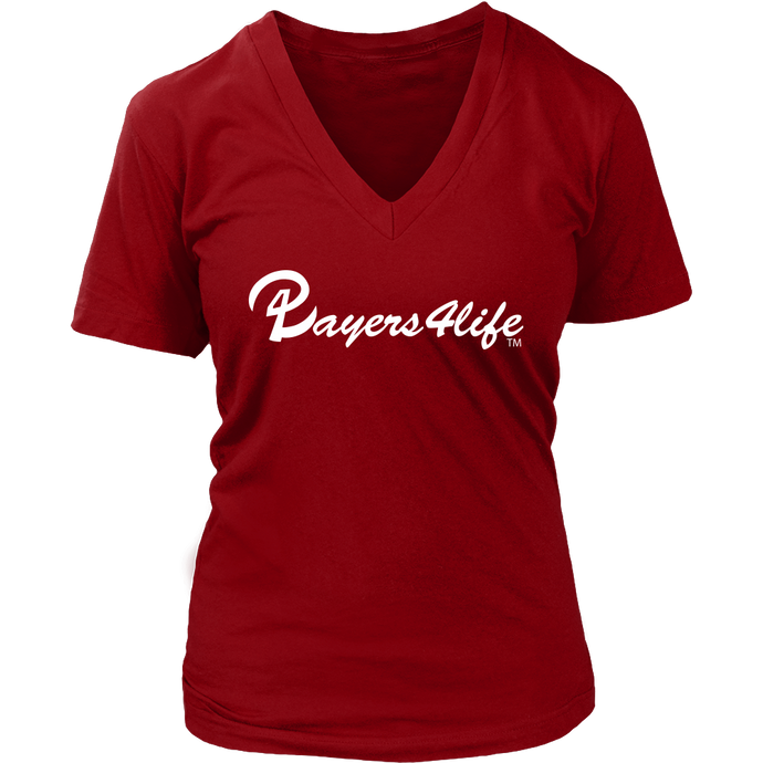 Players 4 Life - Players 4 Life (White Logo) Women's Shirt