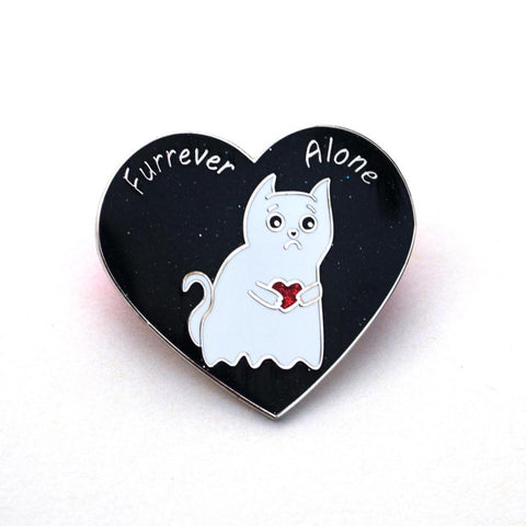Furrever Alone - Enamel Pin