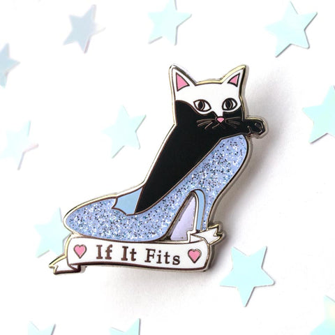 If It Fits Hard Enamel Pin