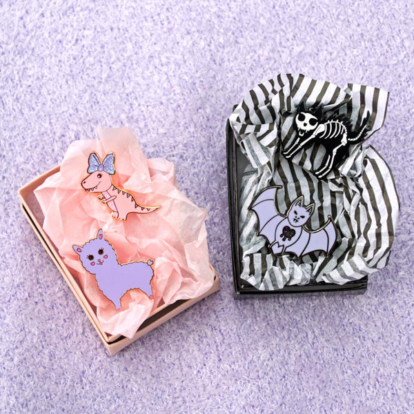 Surprise Pin Blind Box - Cute or Goth Style Pin Surprise Gift Box