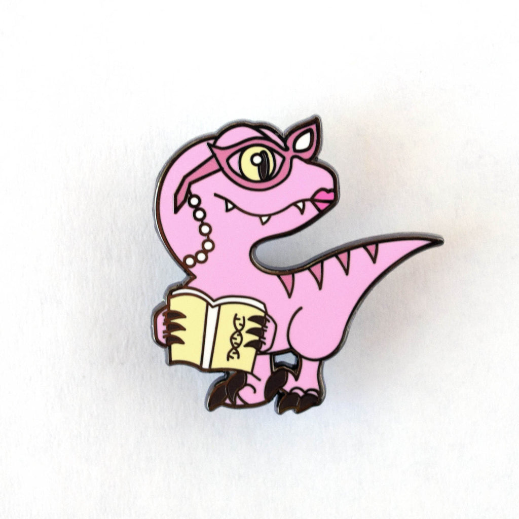Clever Librarian Enamel Pin