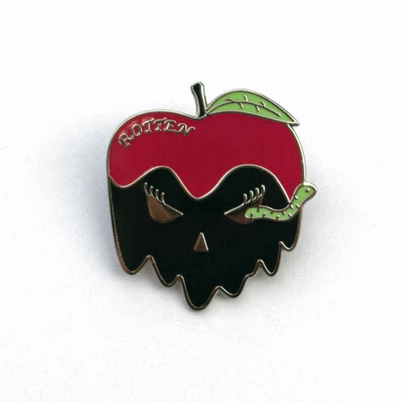Rotten Apple Enamel Pin