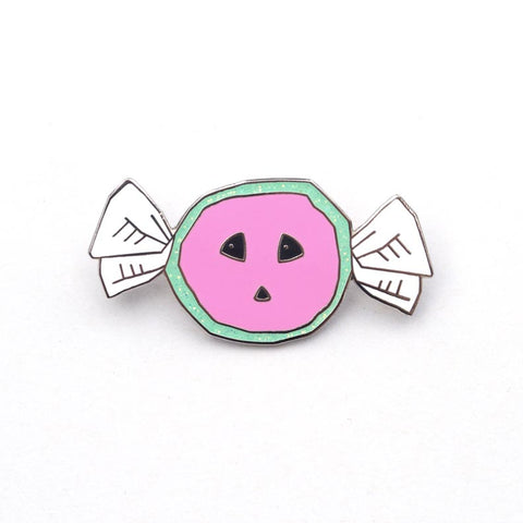 Watermelon Taffy Enamel Pin