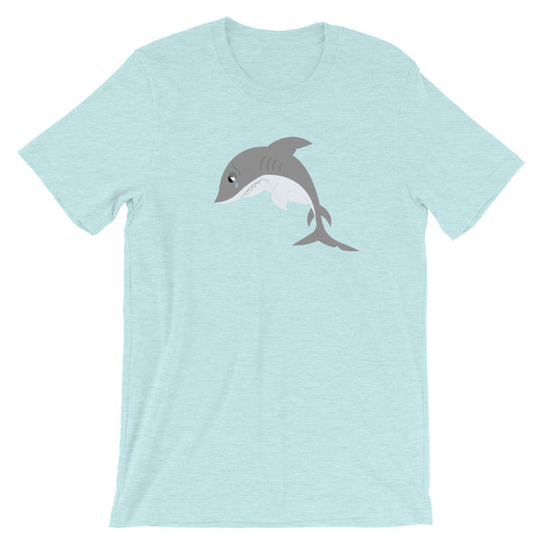 Sad Shark Short-Sleeve Unisex T-Shirt