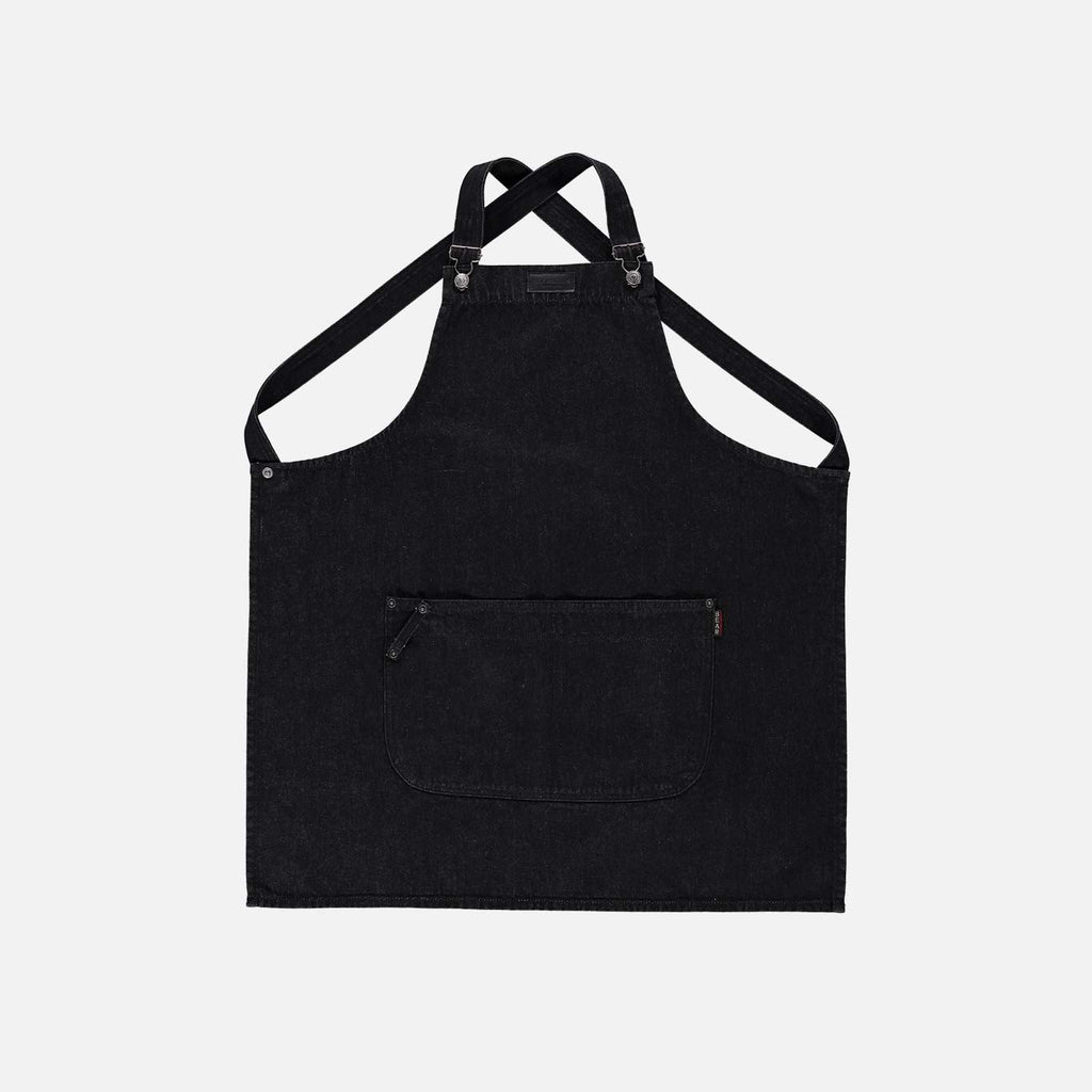Black Denim Apron
