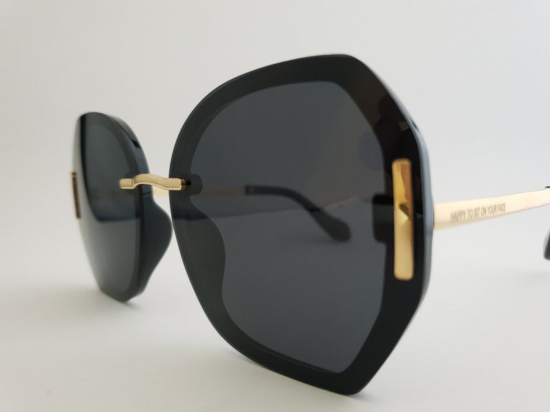 Sunglasses - Manhatten Black