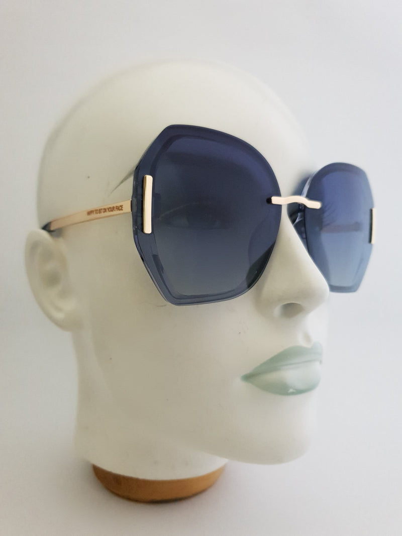 Sunglasses - Manhatten - Blue