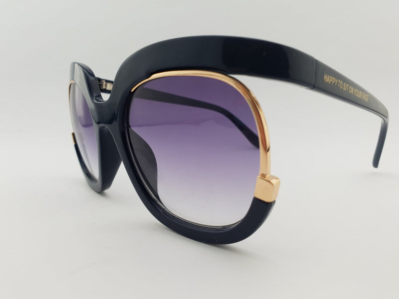 Sunglasses - Loren - Navy